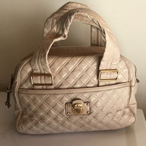 Marc Jacobs Large quilted doctor satchel bag